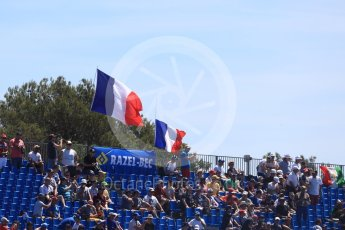 World © Octane Photographic Ltd. Formula 1 – French GP - Practice 1. Fans. Circuit Paul Ricard, Le Castellet, France. Friday 22nd June 2018.