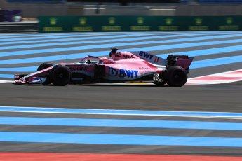 World © Octane Photographic Ltd. Formula 1 – French GP - Practice 1. Sahara Force India VJM11 - Sergio Perez. Circuit Paul Ricard, Le Castellet, France. Friday 22nd June 2018.