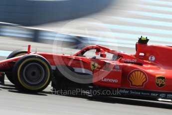 World © Octane Photographic Ltd. Formula 1 – French GP - Practice 2. Scuderia Ferrari SF71-H – Kimi Raikkonen. Circuit Paul Ricard, Le Castellet, France. Friday 22nd June 2018.