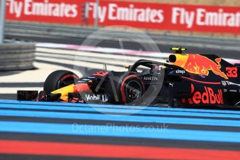 World © Octane Photographic Ltd. Formula 1 – French GP - Practice 2. Aston Martin Red Bull Racing TAG Heuer RB14 – Max Verstappen. Circuit Paul Ricard, Le Castellet, France. Friday 22nd June 2018.