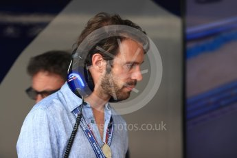 World © Octane Photographic Ltd. Formula 1 - French GP - Paddock. Jean - Eric Vergne. Circuit Paul Ricard, Le Castellet, France. Saturday 23rd June 2018.