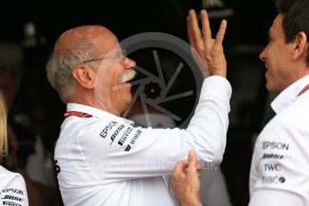 World © Octane Photographic Ltd. Formula 1 - French GP - Paddock. Dieter Zetsche- Board of Management of Daimler AG and Head of Mercedes-Benz Cars. Circuit Paul Ricard, Le Castellet, France. Saturday 23rd June 2018.