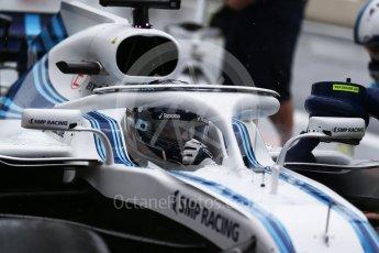 World © Octane Photographic Ltd. Formula 1 – French GP - Practice 3. Williams Martini Racing FW41 – Lance Stroll. Circuit Paul Ricard, Le Castellet, France. Saturday 23rd June 2018.