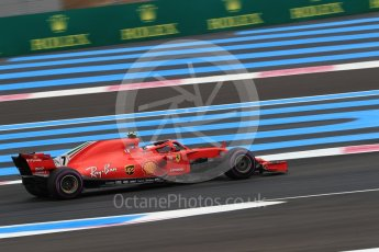 World © Octane Photographic Ltd. Formula 1 – French GP - Qualifying. Scuderia Ferrari SF71-H – Kimi Raikkonen. Circuit Paul Ricard, Le Castellet, France. Saturday 23rd June 2018.