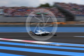 World © Octane Photographic Ltd. Formula 1 – French GP - Qualifying. Williams Martini Racing FW41 – Sergey Sirotkin. Circuit Paul Ricard, Le Castellet, France. Saturday 23rd June 2018.