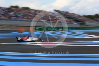 World © Octane Photographic Ltd. Formula 1 – French GP - Qualifying. Alfa Romeo Sauber F1 Team C37 – Charles Leclerc. Circuit Paul Ricard, Le Castellet, France. Saturday 23rd June 2018.