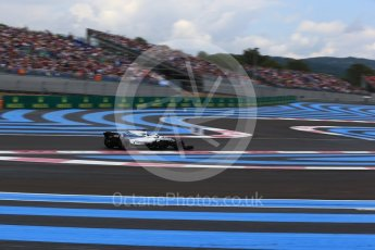 World © Octane Photographic Ltd. Formula 1 – French GP - Qualifying. Williams Martini Racing FW41 – Lance Stroll. Circuit Paul Ricard, Le Castellet, France. Saturday 23rd June 2018.