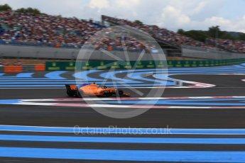 World © Octane Photographic Ltd. Formula 1 – French GP - Qualifying. McLaren MCL33 – Stoffel Vandoorne. Circuit Paul Ricard, Le Castellet, France. Saturday 23rd June 2018.