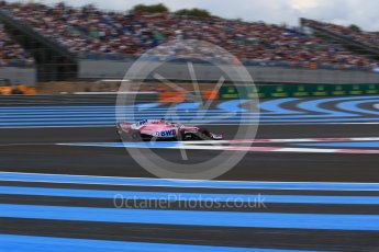 World © Octane Photographic Ltd. Formula 1 – French GP - Qualifying. Sahara Force India VJM11 - Sergio Perez. Circuit Paul Ricard, Le Castellet, France. Saturday 23rd June 2018.