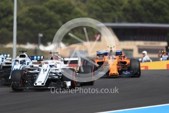 World © Octane Photographic Ltd. Formula 1 – French GP - Race. Alfa Romeo Sauber F1 Team C37 – Marcus Ericsson. Circuit Paul Ricard, Le Castellet, France. Sunday 24th June 2018.