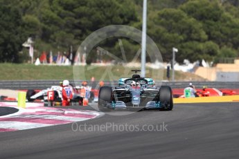 World © Octane Photographic Ltd. Formula 1 – French GP - Race. Mercedes AMG Petronas Motorsport AMG F1 W09 EQ Power+ - Lewis Hamilton. Circuit Paul Ricard, Le Castellet, France. Sunday 24th June 2018.
