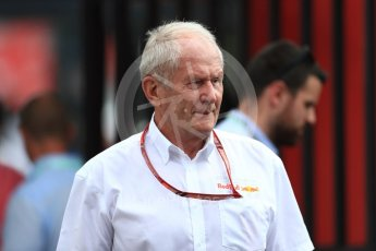 World © Octane Photographic Ltd. Formula 1 - French GP - Paddock. Helmut Marko - advisor to the Red Bull GmbH Formula One Teams and head of Red Bull's driver development program. Circuit Paul Ricard, Le Castellet, France. Saturday 23rd June 2018.