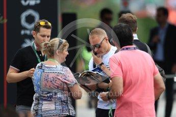 World © Octane Photographic Ltd. Formula 1 – French GP - Paddock. Mercedes AMG Petronas Motorsport AMG F1 W09 EQ Power+ - Valtteri Bottas. Circuit Paul Ricard, Le Castellet, France. Saturday 23rd June 2018.
