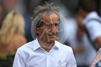 World © Octane Photographic Ltd. Formula 1 - French GP - Paddock. Alain Prost – Special Advisor to Renault Sport Formula 1 Team. Circuit Paul Ricard, Le Castellet, France. Saturday 23rd June 2018.