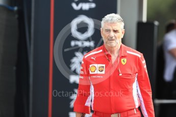 World © Octane Photographic Ltd. Formula 1 - French GP - Paddock. Maurizio Arrivabene – Managing Director and Team Principal of Scuderia Ferrari. Circuit Paul Ricard, Le Castellet, France. Sunday 24th June 2018.