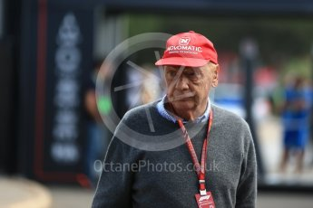 World © Octane Photographic Ltd. Formula 1 - French GP - Paddock. Niki Lauda - Non-Executive Chairman of Mercedes-Benz Motorsport. Circuit Paul Ricard, Le Castellet, France. Sunday 24th June 2018.
