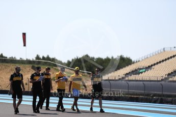 World © Octane Photographic Ltd. Formula 1 – French GP - Track Walk. Renault Sport F1 Team RS18 – Carlos Sainz. Circuit Paul Ricard, Le Castellet, France. Thursday 21st June 2018.