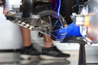World © Octane Photographic Ltd. Formula 1 – French GP - Pit Lane. Scuderia Toro Rosso STR13. Circuit Paul Ricard, Le Castellet, France. Thursday 21st June 2018.