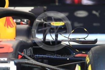 World © Octane Photographic Ltd. Formula 1 – French GP - Pit Lane. Aston Martin Red Bull Racing TAG Heuer RB14. Circuit Paul Ricard, Le Castellet, France. Thursday 21st June 2018.