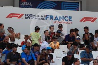 World © Octane Photographic Ltd. Formula 1 – French GP - Pit Lane. Fans. Circuit Paul Ricard, Le Castellet, France. Thursday 21st June 2018.