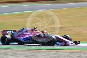World © Octane Photographic Ltd. Formula 1 – German GP - Practice 1. Sahara Force India VJM11 - Nicholas Latifi. Hockenheimring, Baden-Wurttemberg, Germany. Friday 20th July 2018.