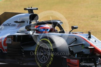 World © Octane Photographic Ltd. Formula 1 – German GP - Practice 1. Haas F1 Team VF-18 – Romain Grosjean. Hockenheimring, Baden-Wurttemberg, Germany. Friday 20th July 2018.
