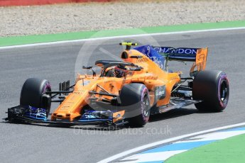 World © Octane Photographic Ltd. Formula 1 – German GP - Practice 1. McLaren MCL33 – Stoffel Vandoorne. Hockenheimring, Baden-Wurttemberg, Germany. Friday 20th July 2018.