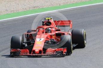 World © Octane Photographic Ltd. Formula 1 – German GP - Practice 1. Scuderia Ferrari SF71-H – Kimi Raikkonen. Hockenheimring, Baden-Wurttemberg, Germany. Friday 20th July 2018.