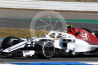 World © Octane Photographic Ltd. Formula 1 – German GP - Practice 1. Alfa Romeo Sauber F1 Team C37 – Charles Leclerc. Hockenheimring, Baden-Wurttemberg, Germany. Friday 20th July 2018.
