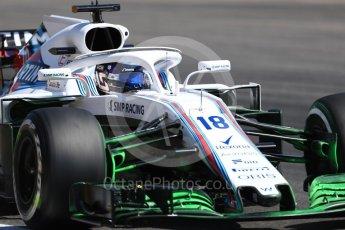 World © Octane Photographic Ltd. Formula 1 – German GP - Practice 2. Williams Martini Racing FW41 – Lance Stroll. Hockenheimring, Baden-Wurttemberg, Germany. Friday 20th July 2018.