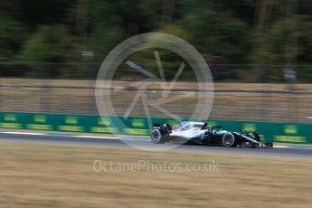 World © Octane Photographic Ltd. Formula 1 – German GP - Practice 2. Mercedes AMG Petronas Motorsport AMG F1 W09 EQ Power+ - Lewis Hamilton. Hockenheimring, Baden-Wurttemberg, Germany. Friday 20th July 2018.