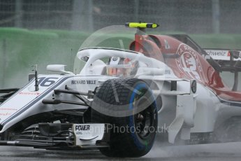 World © Octane Photographic Ltd. Formula 1 – German GP - Practice 3. Alfa Romeo Sauber F1 Team C37 – Charles Leclerc. Hockenheimring, Baden-Wurttemberg, Germany. Saturday 21st July 2018.