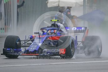 World © Octane Photographic Ltd. Formula 1 – German GP - Practice 3. Scuderia Toro Rosso STR13 – Pierre Gasly. Hockenheimring, Baden-Wurttemberg, Germany. Saturday 21st July 2018.