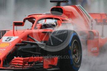 World © Octane Photographic Ltd. Formula 1 – German GP - Practice 3. Scuderia Ferrari SF71-H – Sebastian Vettel. Hockenheimring, Baden-Wurttemberg, Germany. Saturday 21st July 2018.
