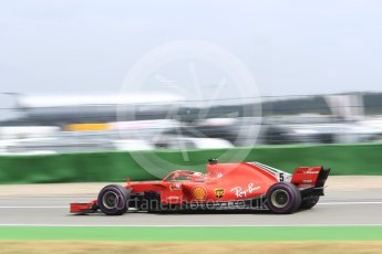 World © Octane Photographic Ltd. Formula 1 – German GP - Qualifying. Scuderia Ferrari SF71-H – Sebastian Vettel. Hockenheimring, Baden-Wurttemberg, Germany. Saturday 21st July 2018.