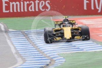 World © Octane Photographic Ltd. Formula 1 – German GP - Qualifying. Renault Sport F1 Team RS18 – Carlos Sainz. Hockenheimring, Baden-Wurttemberg, Germany. Saturday 21st July 2018.