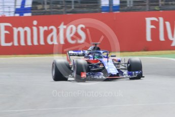 World © Octane Photographic Ltd. Formula 1 – German GP - Qualifying. Scuderia Toro Rosso STR13 – Brendon Hartley. Hockenheimring, Baden-Wurttemberg, Germany. Saturday 21st July 2018.