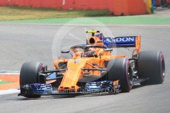 World © Octane Photographic Ltd. Formula 1 – German GP - Qualifying. McLaren MCL33 – Stoffel Vandoorne. Hockenheimring, Baden-Wurttemberg, Germany. Saturday 21st July 2018.