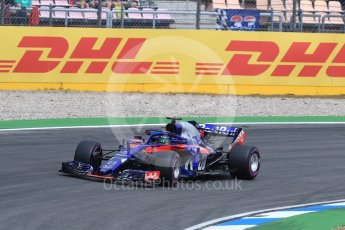 World © Octane Photographic Ltd. Formula 1 – German GP - Qualifying. Scuderia Toro Rosso STR13 – Brendon Hartley. Hockenheimring, Baden-Wurttemberg, Germany. Saturday 21st July 2018.