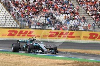 World © Octane Photographic Ltd. Formula 1 – German GP - Qualifying. Mercedes AMG Petronas Motorsport AMG F1 W09 EQ Power+ - Valtteri Bottas. Hockenheimring, Baden-Wurttemberg, Germany. Saturday 21st July 2018.