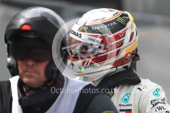 World © Octane Photographic Ltd. Formula 1 – German GP - Qualifying. Mercedes AMG Petronas Motorsport AMG F1 W09 EQ Power+ - Lewis Hamilton. Hockenheimring, Baden-Wurttemberg, Germany. Saturday 21st July 2018.
