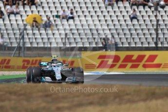 World © Octane Photographic Ltd. Formula 1 – German GP - Race. Mercedes AMG Petronas Motorsport AMG F1 W09 EQ Power+ - Valtteri Bottas. Hockenheimring, Baden-Wurttemberg, Germany. Sunday 22nd July 2018.