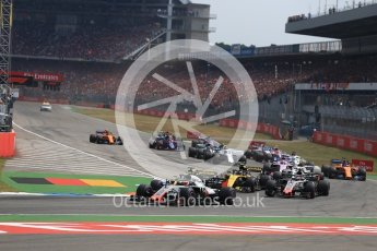 World © Octane Photographic Ltd. Formula 1 – German GP - Race. Haas F1 Team VF-18 – Kevin Magnussen. Hockenheimring, Baden-Wurttemberg, Germany. Sunday 22nd July 2018.