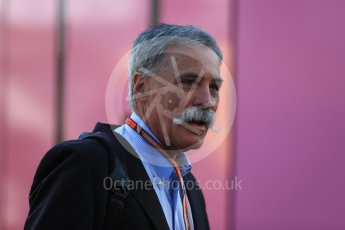 World © Octane Photographic Ltd. Formula 1 - German GP - Paddock. Chase Carey - Chief Executive Officer of the Formula One Group. Hockenheimring, Baden-Wurttemberg, Germany. Friday 20th July 2018.