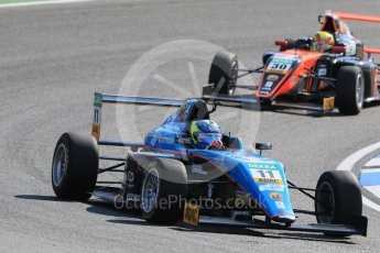 World © Octane Photographic Ltd. ADAC Formula 4 (F4). Jenzer Motorsport - Giorgio Carrara and Van Amersfoort Racing - Liam Lawson. Hockenheimring Practice, Baden-Wurttemberg, Germany. Thursday 19th July 2018.
