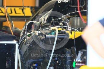 World © Octane Photographic Ltd. Formula 1 – German GP - Pitlane. Renault Sport F1 Team RS18. Hockenheimring, Baden-Wurttemberg, Germany. Thursday 19th July 2018.