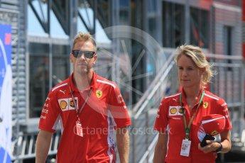 World © Octane Photographic Ltd. Formula 1 – German GP - Paddock. Scuderia Ferrari SF71-H – Sebastian Vettel. Hockenheimring, Baden-Wurttemberg, Germany. Thursday 19th July 2018.