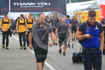 World © Octane Photographic Ltd. Formula 1 - German GP - Paddock. F1 Paddock curfew ends. Hockenheimring, Baden-Wurttemberg, Germany. Saturday 21st July 2018.