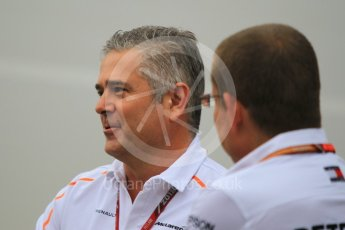 World © Octane Photographic Ltd. Formula 1 - German GP - Paddock. Gil De Ferran - Sporting Director of McLaren. Hockenheimring, Baden-Wurttemberg, Germany. Saturday 21st July 2018.