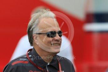 World © Octane Photographic Ltd. Formula 1 - German GP - Paddock. Gene Haas  - Founder and Chairman of Haas F1 Team. Hockenheimring, Baden-Wurttemberg, Germany. Saturday 21st July 2018.